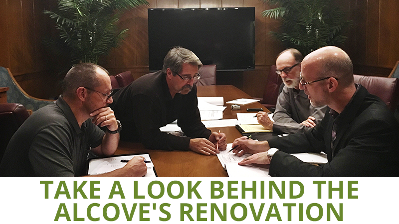 Take a Look Behind The Alcove's Renovation