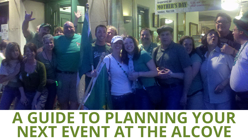 A Guide to Planning Your Next Event at The Alcove